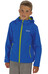 Regatta Tyson II Softshell Jacket Kids oxford blue /lime zest